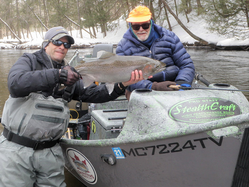 Is Spring Here to Stay? - Pere Marquette River Fly Fishing Guide