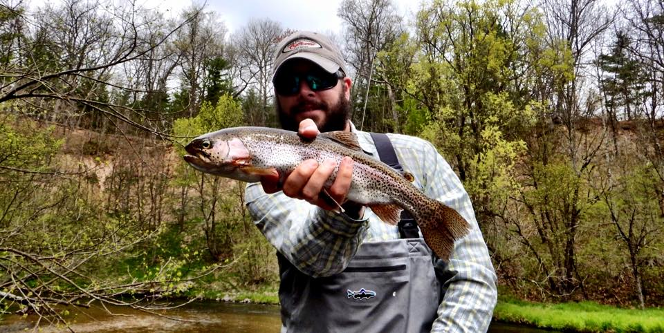Fishing report pere marquette river fly fishing guide for Pere marquette river fishing report