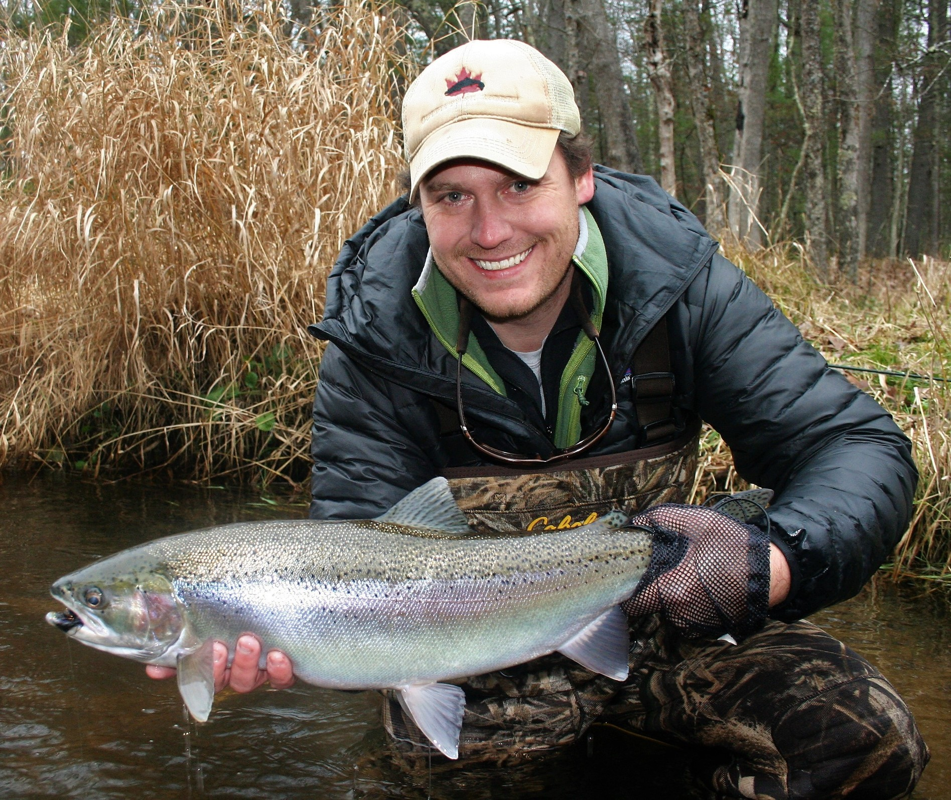 Fishing report 12 pere marquette river fly fishing for Pere marquette river fishing report